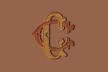 CC Victorian Monogram Logo. Vi...