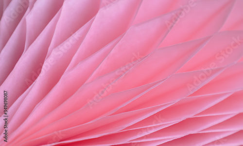 Pink abstract background with bizarre pattern Canvas Print