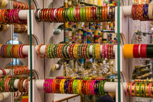 Colorful Bangles For Sale At Store