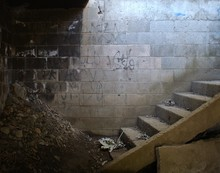 Abandoned Cellar At A Home In ...
