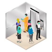New Normal Isometric, Social D...
