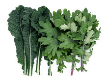 Kale Medley Of Red Russian Kal...