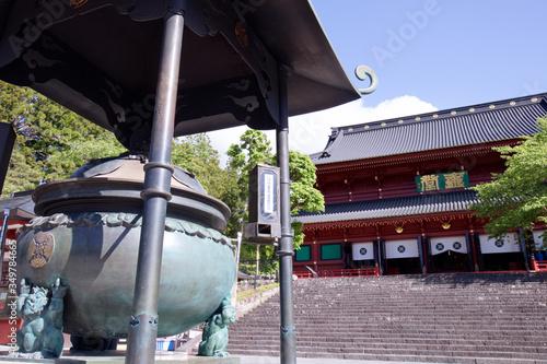 日光山輪王寺 三仏堂の常香炉 Tapéta, Fotótapéta