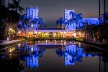 Casa De Balboa At Night Balboa Park San Diego