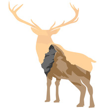 Matterhorn In A Deer-shaped Fr...