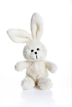 Close-up Of Stuffed Toy Over White Background