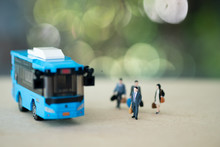 Businessman To Commute By Bus ...