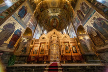 Interior In Church Of Saviour ...