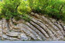 Volcanic Rocks In France.