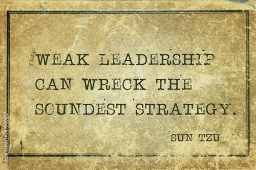 weak leadership Sun Tzu Фотошпалери