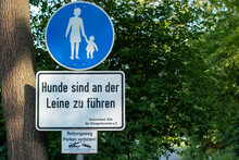 Germany Sign Only Walking Is A...