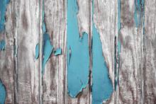 Alte Holzwand Mit Abblätternder Farbschicht Vor Einer Renovierung