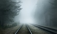 Creepy Old Railroad Through Th...