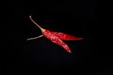 Dried Red Chili Peppers Isolat...