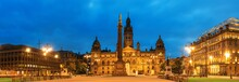 Glasgow City Council At Night
