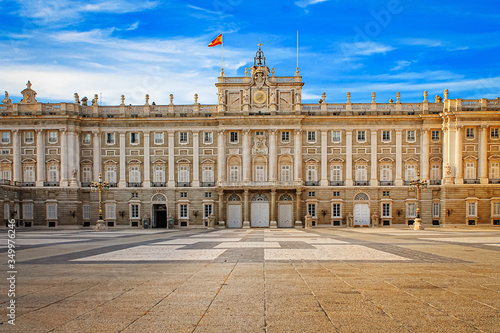 Fényképezés Royal Palace in Madrid, the official residence of the kings of Spain