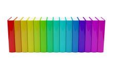 Colorful Rainbow Colored Hardc...