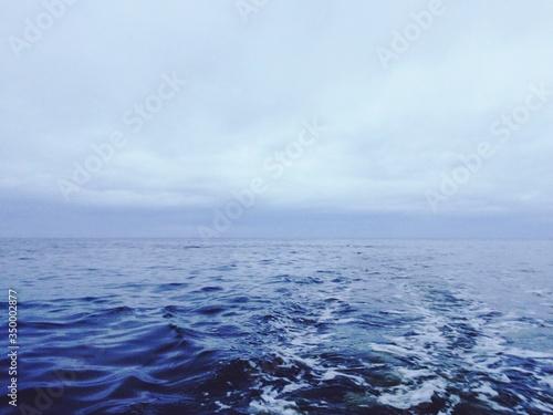 Scenic View Of Sea Against Cloudy Sky © ivan kozyrev/EyeEm