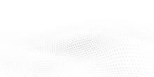 Abstract Halftone Background W...