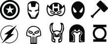 Set Of Marvel Superhero Vector...