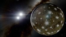 Beautiful Alien Planet In Far ...