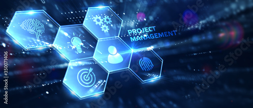 Fototapeta Project management concept