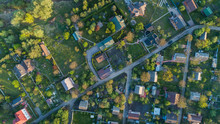 Top View Of The Village With P...