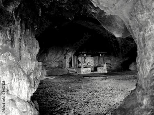 Fototapeta Empty Walkway In The Cave