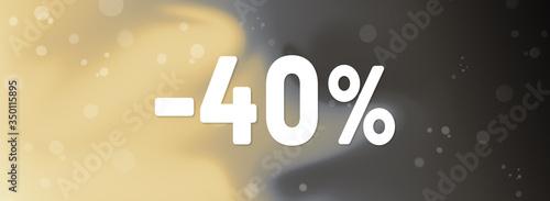 Photo 40% discount web Sticker Button