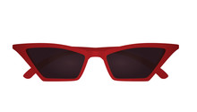 Cat Eye Sunglasses. Vector Ill...