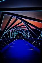 Illuminated High Trestle Trail...