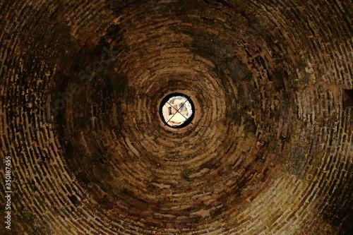 Foto Directly Below Shot Of Cupola
