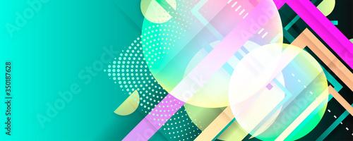 Plakaty kolorowe  plynny-kolor-niebieski-turkusowy-wzor-tla-kompozycja-ksztaltow-plynnego-gradientu-futurystyczny