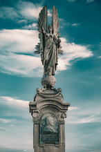 The Angel Statue On The Border...