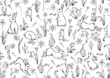 Seamless Pattern, Ackground Wi...