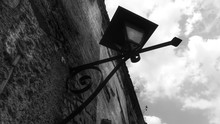 Low Angle View Of Street Lamp ...