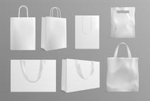 Eco Bag Mockup. Realistic Canv...