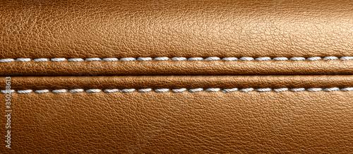 Car brown leather interior Wallpaper Mural
