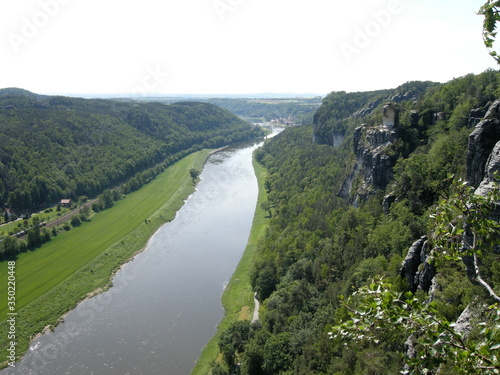 Photo Ariel View Of River Against Sky