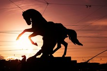 Horse Tamers Monument By Peter...