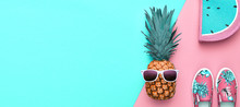 Fashion. Pineapple Hipster In ...