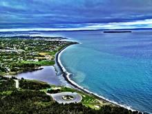 Aerial View Of Coastline