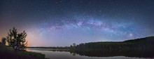 Panorama Of The Starry Sky Ove...