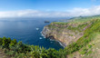 Walk on the Azores archipelago. Discovery of the island of Sao Miguel, Azores.