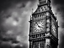 High Section Of Big Ben