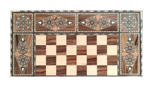 Backgammon With Wooden Inlay. ...