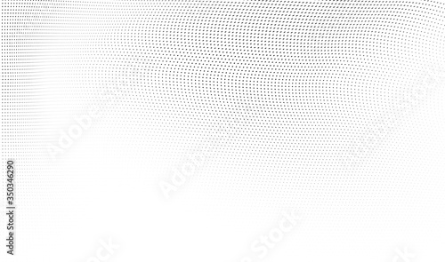 Abstract halftone background Wallpaper Mural