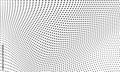 Photo Abstract halftone background