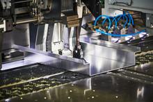 Panel Bending Machine At Work....