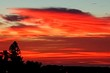 canvas print picture - Low Angle View Of Dramatic Sky During Sunset